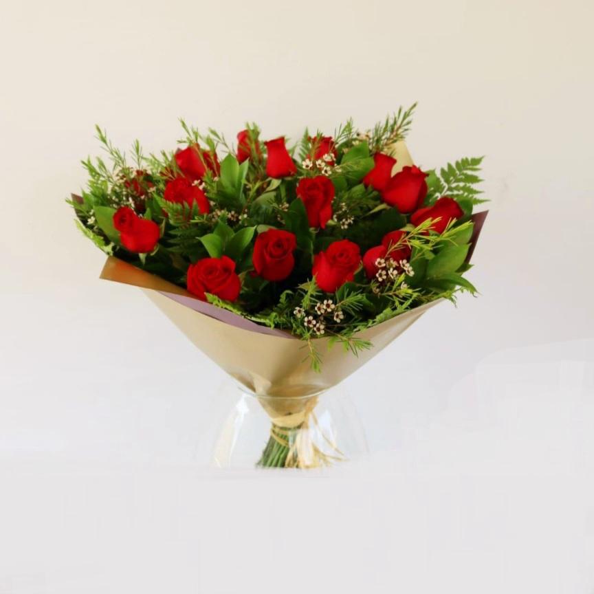 זר ורדים לאוהבים